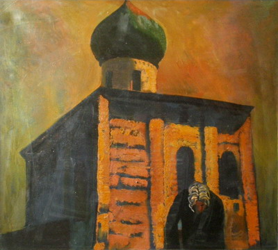 Купить картину - Церковь Св. Николая.  Старая Ладога.